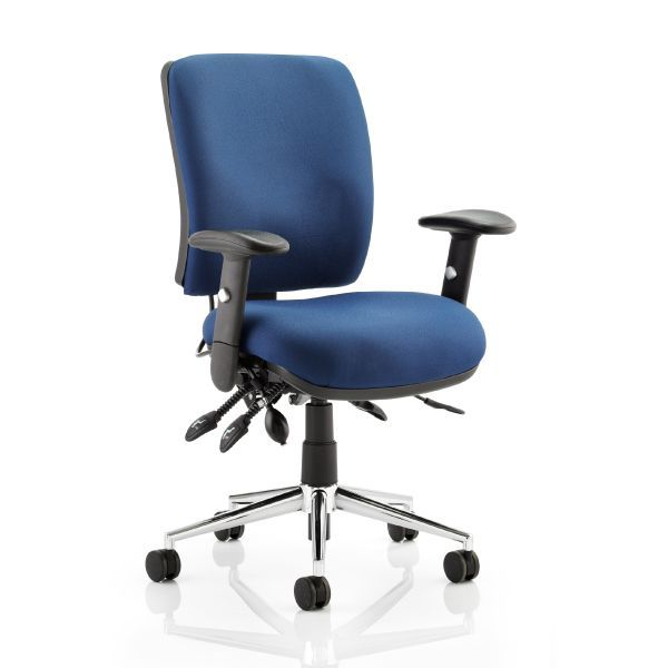 Chiro Medium Back 24 Hour Office Chair | 23.5 Stone Gas Lift Tolerance