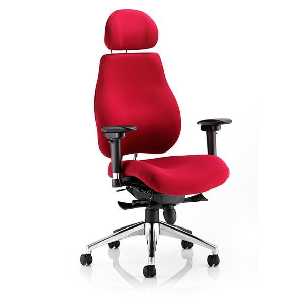 chiro plus heavy duty office chair for large users