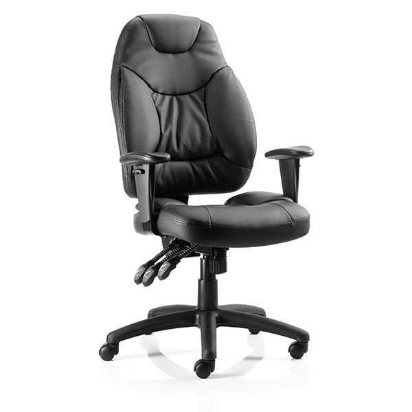 foxley heavy duty office chair 23 5 stone