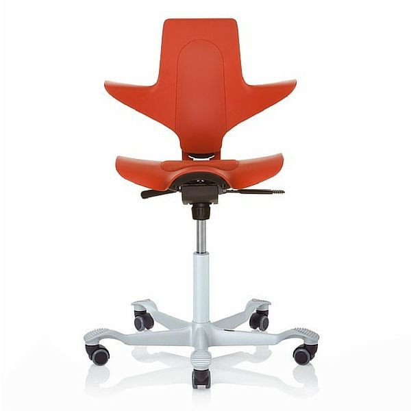 HAG Capisco Puls 8010 Red Saddle Chair