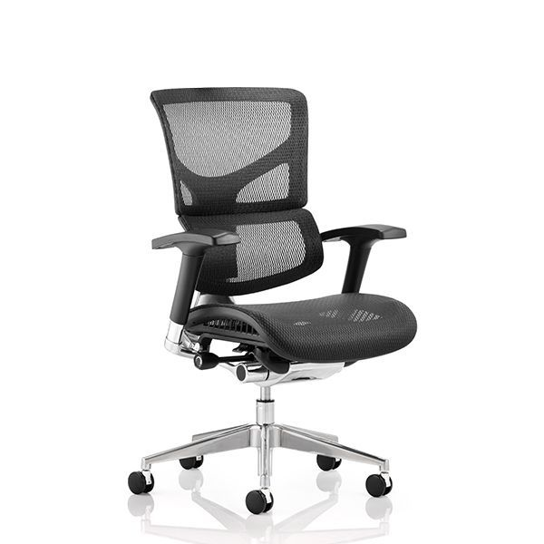 Ergo-Dynamic Office Chair Black Frame| LockwoodHume