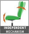independent mechanism icon