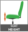 seat height icon